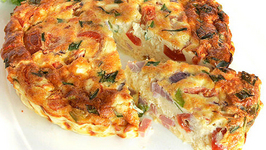 Chicken Sausage And Fresh Vegetable Frittata