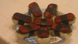 Hawaiian Favorite Spam Musubi- Part 1 Ingredient Measurement & Preparation