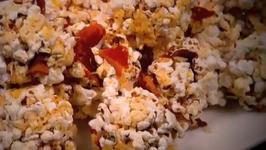 Cheddar and Bacon Popcorn Balls