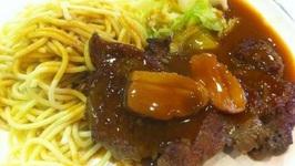 Company Pork Tehderloin and Noodles
