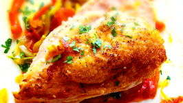 Pan Seared Chicken Breast in Pepper Sauce