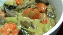 Thai Green Pork Curry Pork
