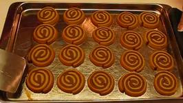 Traditional Christmas Pinwheel cookie