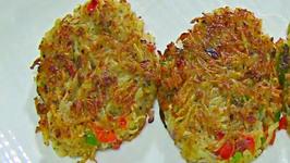 Quick Hash Brown - Savory Potato Cake
