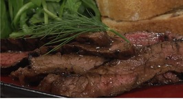 Mustard Dill Marinated Flank Steak