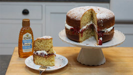 How to make a Rich Honey - Victoria Sponge Cake