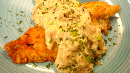 Trout Filets with Crabmeat Sauce