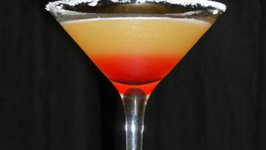 Pineapple Upside Down Martini