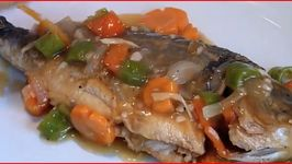 Escabeche - Filipino Sweet and Sour Fish