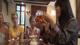 Visiting Hong Kong Park & Participating in a Chinese Tea Appreciation Ceremony