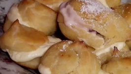 Cranberry Cream Puffs-Holiday Series