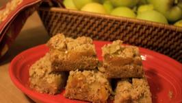 Apple Oatmeal Bars Cookie Jar