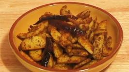 Stir Fried Arbi
