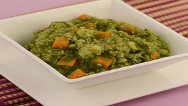 Healthy Green Curry  Pregnancy and Iron Rich   by Tarla Dalal