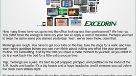 Excedrin: Whats Your Headache Contest