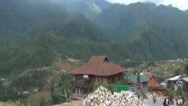 Cat Cat Village Hiking Tour Visiting Black Hmong Tribe Nearby Sapa, Vietnam Travel Video