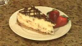 Chocolate Chip Tiramisu Cheesecake