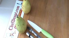 How to Core Pear