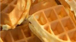 Sour Cream Breakfast Waffles