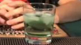The Green Scorpion Cocktail