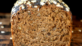 Health and Fiber Rich Beef and Walnut Loaf