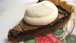 Betty's Romantic Dark Chocolate Pie