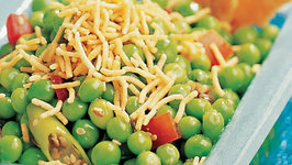 Mutter Chaat (Low-Cal Snack)