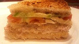 Simple Chicken Club Sandwich