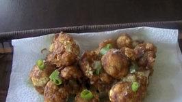 Gobhi 65  - Fried Cauliflower Indian