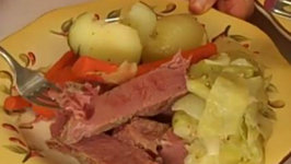 Corn Beef and Cabbage with Irish Soda Bread by Rosalie Fiorino Harpole