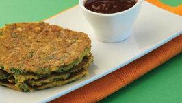 Chana Dal Pancakes