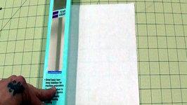 Medium Weight Tearaway Machine Embroidery Stabilizer
