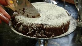 Torta Caprese - aka Chocolate Almond Flourless Cake
