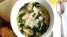 Mediterranean Orzo Soup