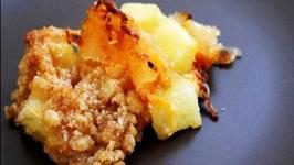 Ham and Pineapple Toast