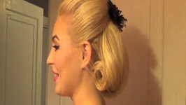 1960's Inspired Formal Updo