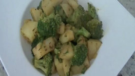 Potato Broccoli Masala / Indian Vegetarian