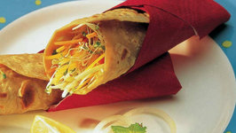 Whole Wheat Salad Wrap