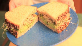 Skinny Avocado Vegan Sandwich