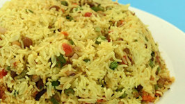 Mixed Sprouts Rice by Tarla Dalal