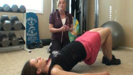 Home Fitness Training With Cari Ham and Julieanna Hever Part 1