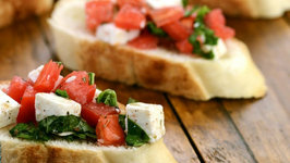 Tomato and Paneer Open Toast