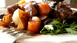 Parsleyed Oven Pot Roast