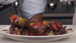 Lean Beef and Vegetable Kebabs
