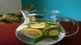 Cucumber Lemon Ginger Detox Water