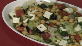 Chickpea and Paneer Salad