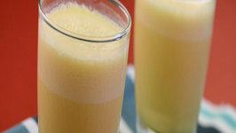 Orange Yoghurt Shake by Tarla Dalal