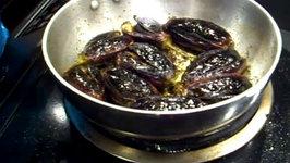 Stuffed Eggplant / Stuffed Brinjal / Bharve Baingan / Easy Eggplant