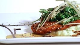 Honey-Dijon Crusted Chicken Cutlet