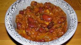 Microwave Hot Chili Con Carne
